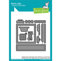 Lawn Fawn - Lawn Cuts - Dies - Magic Picture Changer - Oven Add-On