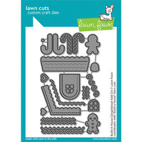 Lawn Fawn - Lawn Cuts - Dies - Build-a-House - Gingerbread Add-On