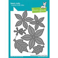 Lawn Fawn - Lawn Cuts - Dies - Stitched Poinsettia