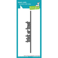 Lawn Fawn - Lawn Cuts - Dies - Trick-or-Treat Line Border