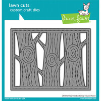 Lawn Fawn - Lawn Cuts - Dies - Lift the Flap Tree Backdrop