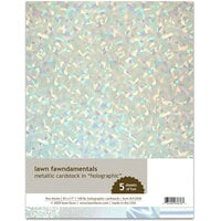 Lawn Fawn - Metallic Cardstock - Holographic