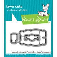 Lawn Fawn - Dies - Germ-Free Bear