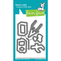 Lawn Fawn - Dies - Special Delivery Box Add-On