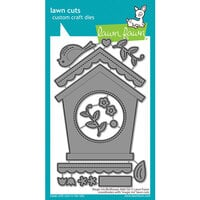 Lawn Fawn - Dies - Magic Iris Birdhouse Add-On