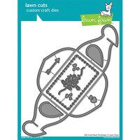 Lawn Fawn - Dies - Gift Card Heart Envelope