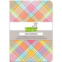 Lawn Fawn - Perfectly Plaid Remix - Mini Notebooks