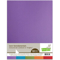 Lawn Fawn - 8.5 x 11 Cardstock - Textured Dot - Brights