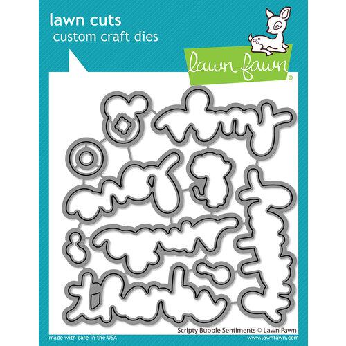 Lawn Fawn - Dies - Scripty Bubble Sentiments