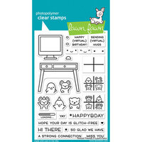Lawn Fawn - Clear Photopolymer Stamps - Virtual Friends