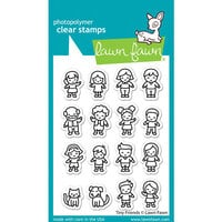 Lawn Fawn - Clear Photopolymer Stamps - Tiny Friends