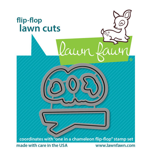 Lawn Fawn - Dies - Flip - Flop - One In A Chameleon