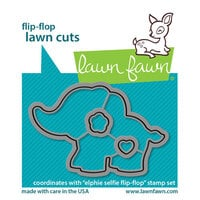 Lawn Fawn - Dies - Elphie Selfie Flip-Flop