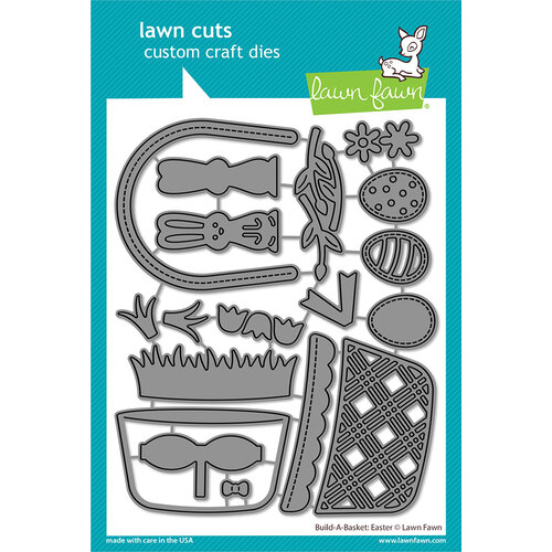 Lawn Fawn - Dies - Build-A-Basket Easter