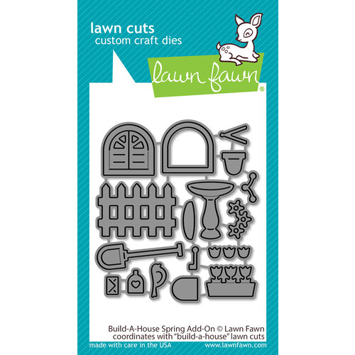 Lawn Fawn - Dies - Build-A-House Spring Add-On