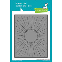 Lawn Fawn - Dies - Sunburst Backdrop