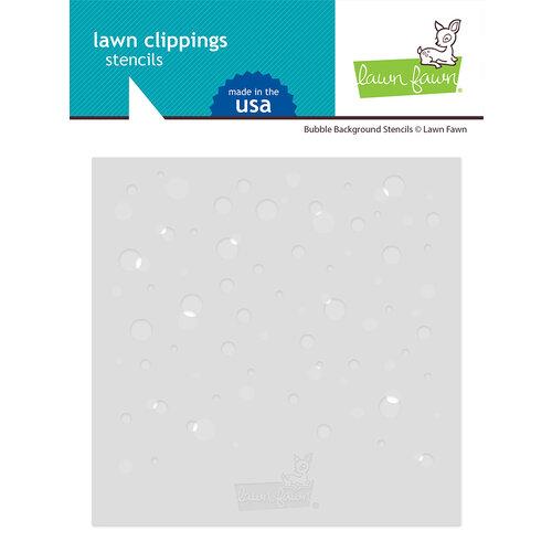 Lawn Fawn - Stencils - Bubble Background