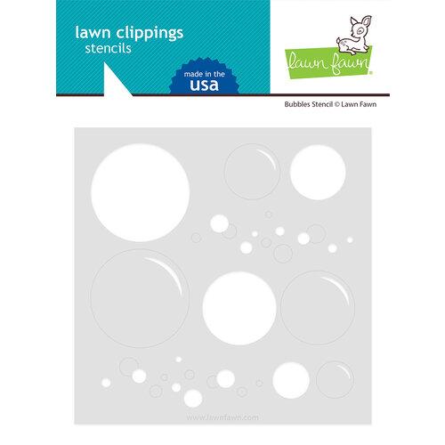 Lawn Fawn - Stencils - Big Bubble