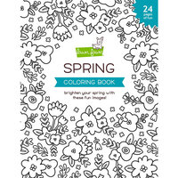 Lawn Fawn - Coloring Book - Spring