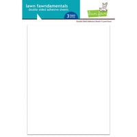 Lawn Fawn - 6 x 8 Double Sided Adhesive Sheets