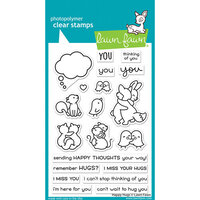 Lawn Fawn - Clear Photopolymer Stamps - Happy Hugs