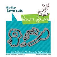 Lawn Fawn - Dies - Flip-Flop - Dandy Day