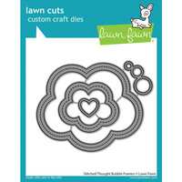 Lawn Fawn - Dies - Stitched Thought Bubble Frames