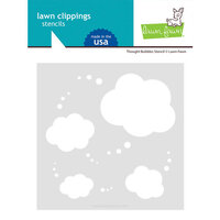 Lawn Fawn - Stencils - Thought Bubble Stencils