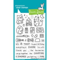 Lawn Fawn - Clear Photopolymer Stamps - S'more The Merrier