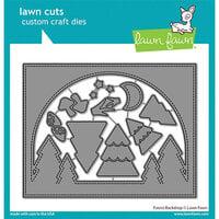 Lawn Fawn - Lawn Cuts - Dies - Forest Backdrop