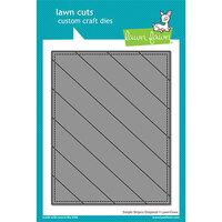 Lawn Fawn - Lawn Cuts - Dies - Simple Stripes - Diagonal