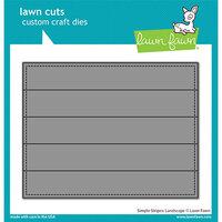 Lawn Fawn - Lawn Cuts - Dies - Simple Stripes - Landscape