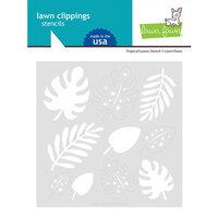 Lawn Fawn - Stencils - Tropical Leaves
