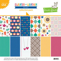 Lawn Fawn - Sweater Weather Remix Collection - 12 x 12 Collection Pack