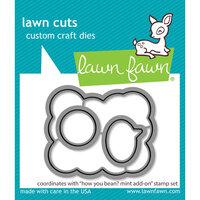 Lawn Fawn - Lawn Cuts - Dies - How You Bean Mint Add-On