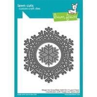 Lawn Fawn - Lawn Cuts - Dies - Magic Iris Snowflake Add-On
