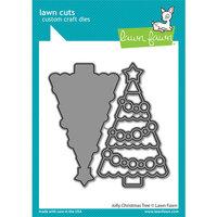 Lawn Fawn - Lawn Cuts - Dies - Jolly Christmas Tree