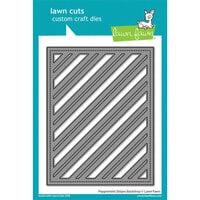 Lawn Fawn - Lawn Cuts - Dies - Peppermint Stripes Backdrop