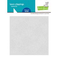 Lawn Fawn - Stencils - Snowflake Background