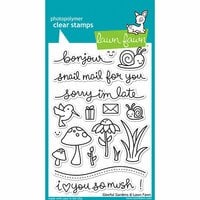 Lawn Fawn - Clear Photopolymer Stamps - Gleeful Gardens