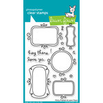 Lawn Fawn - Clear Acrylic Stamps - Flirty Frames