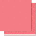 Lawn Fawn - Pint-sized Patterns Beachside Collection - 12 x 12 Double Sided Paper - Coral