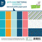 Lawn Fawn - Pint-sized Patterns Beachside Collection - 6 x 6 Petite Paper Pack