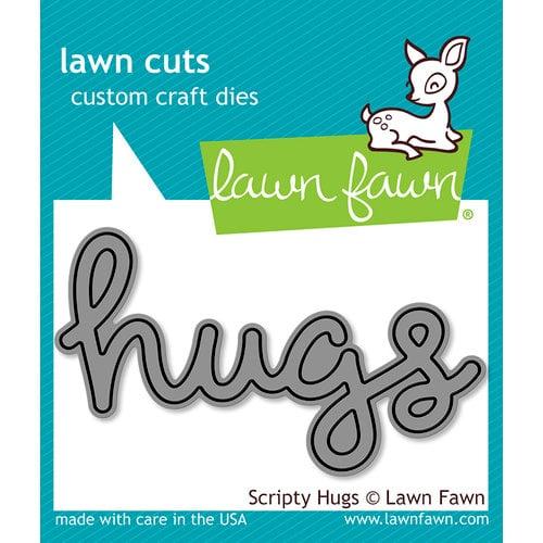 Lawn Fawn Scripty Hugs Die