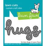 Lawn Fawn - Lawn Cuts - Dies - Scripty Hugs