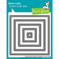 Lawn Cuts Custom Craft Die  Stitched Party Banners 030915070331