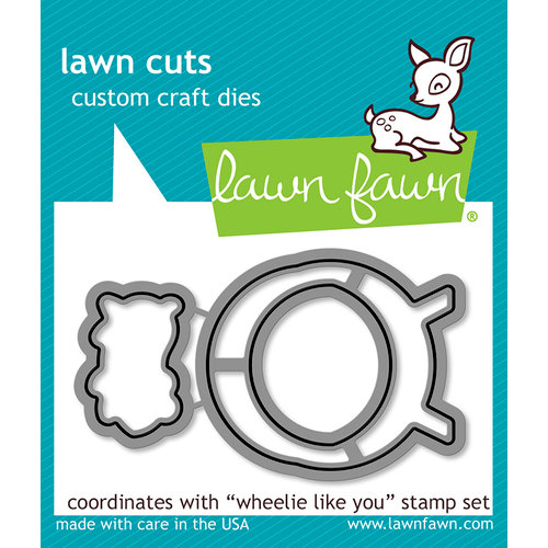 Lawn Fawn - Lawn Cuts - Dies - Wheelie Like You