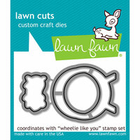 Lawn Fawn - Lawn Cuts - Dies - Wheelie Like You