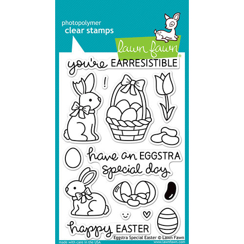 Lawn Fawn - Clear Photopolymer Stamps - Eggstra Special Easter