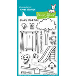 Lawn Fawn - Clear Photopolymer Stamps - Let's Play